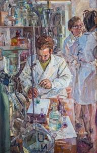 Костылев Валерий Александрович (Россия, 1934) «Химики» 1976