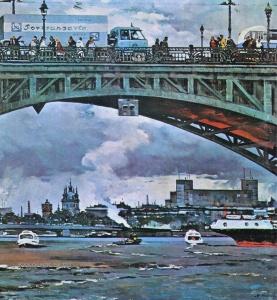 Канеев Михаил Александрович (1923-1983) «Кировский мост» 1975