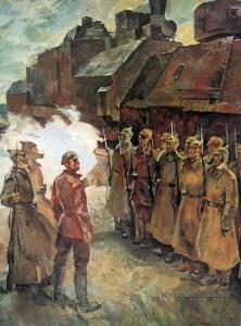 Усыпенко Юрий Федорович (Россия, 1946) «Комиссар» 1975