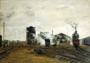 Б.Н. Яковлев Транспорт налаживается. 1923