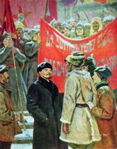 Нечитайло Василий Кириллович (1915-1980) «На Красной площади». 1966