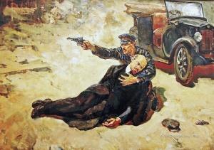 Коваленко Виктор Тихонович (Россия, 1946) «Покушение на Ленина»