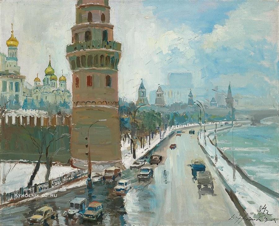 Налбандян Дмитрий Аркадьевич (1906-1993) «Кремлевская набережная»