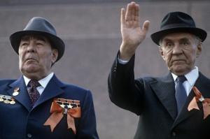Л.И. Брежнев и А.Н. Косыгин