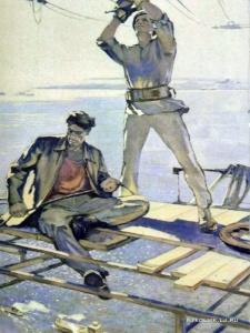 Боско Юрий Иванович (Россия, 1930) «Над Волгой»