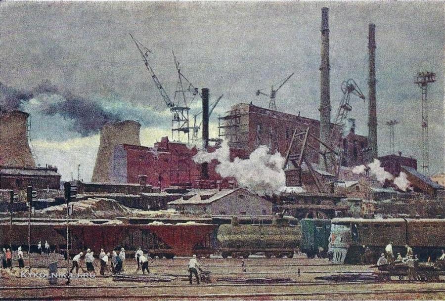 Осенев Николай Иванович (1909-1983) «Индустриальная симфония» 1961