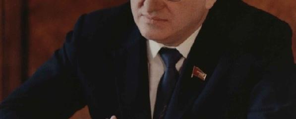 Портрет Ю.В. Андропова, Генерального секретаря ЦК КПСС СССР. 1983 г. Из собрания Ярославского музея-заповедника