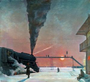 Нисский Георгий Григорьевич (Россия, 1903-1987) «В пути»