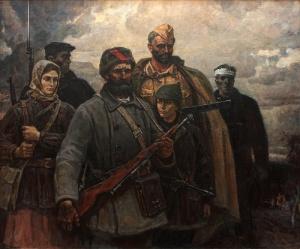 Партизаны. Юрий Пантюхин