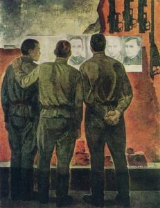 Рыжих Виктор Иванович (Россия, 1933) «Реликвии Бреста» 1968
