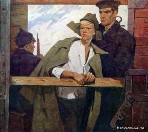 Шполянская Людмила Григорьевна (Россия, 1934) «Заре навстречу»