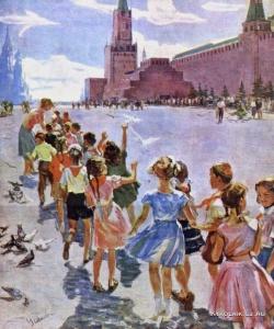 Усикова Евдокия Григорьевна (Украина, 1913 – 1996) «К Ильичу»