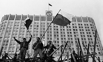 ГКЧП проиграл! Ликование защитников Белого дома! (Oldmos.ru)