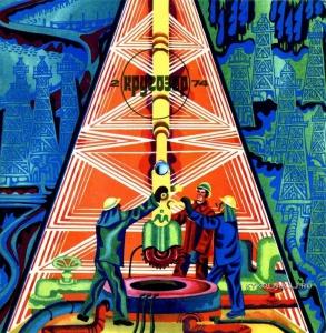 Борисов А. «В мире профессий. Нефтяники» 1974