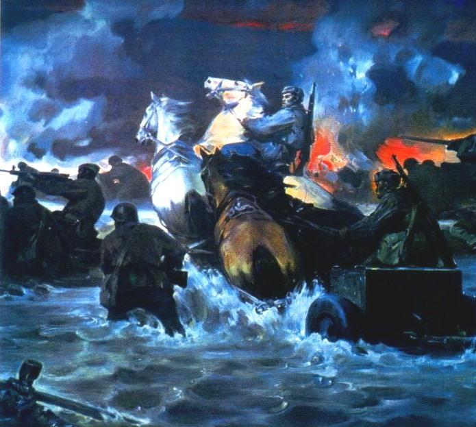 В. Шаталин. Битва за Днепр. 1983