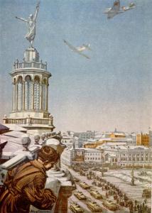 И. Соколов. На Запад. 1943
