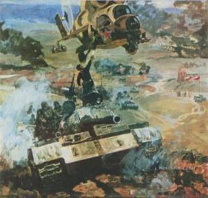 Сибирский Вениамин Михайлович (Россия, 1936) «Совместные учения» 1978