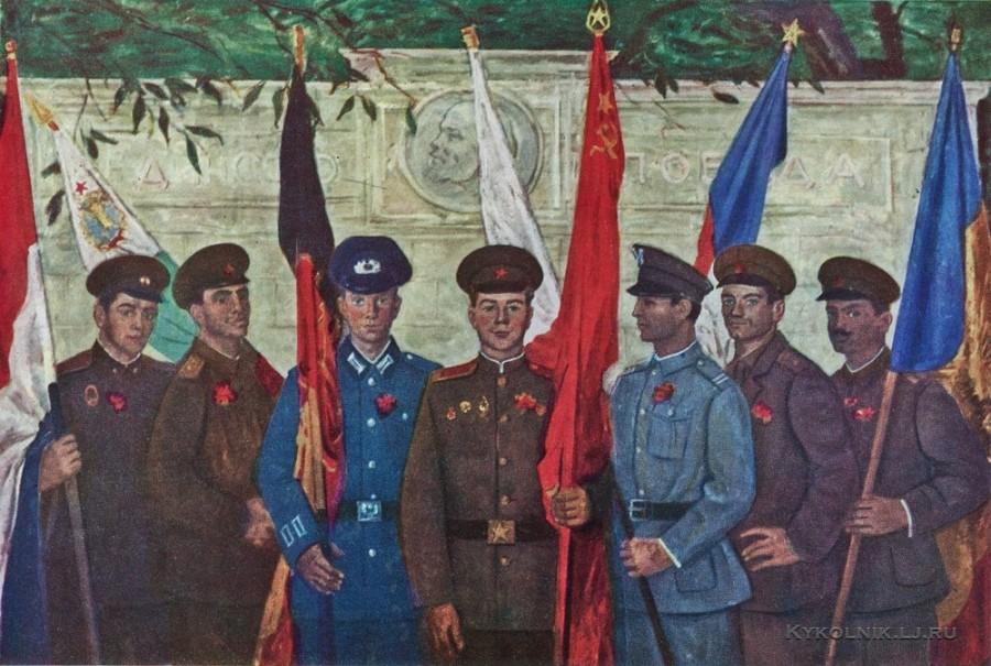 Переяславец Владимир Иванович (Россия, 1918) «Варшавский договор» 1966