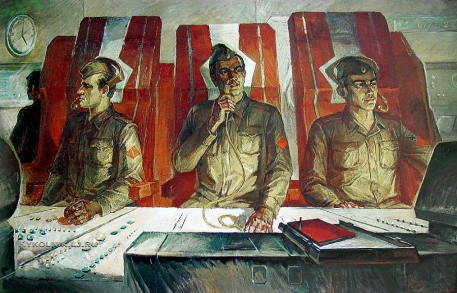 Антонов Сергей Георгиевич (1932) «Днём и ночью» 1979