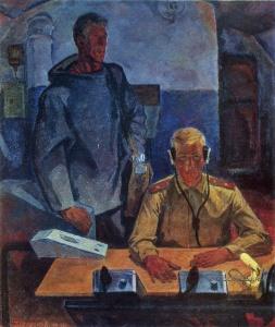 Окороков Борис Владимирович (1933-2005) «Дни и ночи» 1969