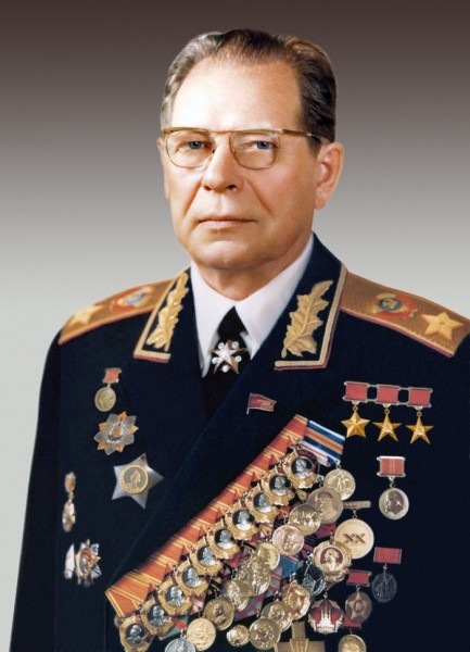 Дмитрий Фёдорович Устинов- маршал Советского Союза и министр обороны СССР