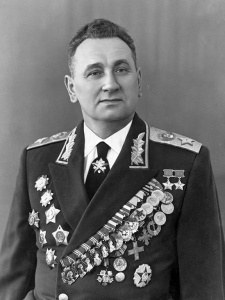 Маршал Советского Союза Гречко Андрей Антонович в парадном мундире. 1960 г