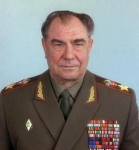 Дмитрий Язов, министр обороны