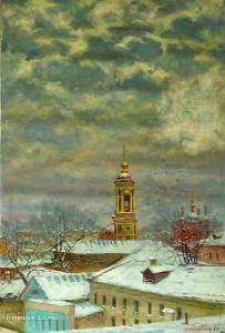Маланенков Юрий Алексеевич (Россия, 1950) «Замоскворечье»