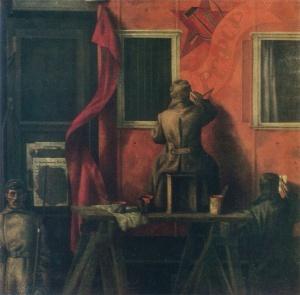 Монастырный Василий Васильевич (1946-2017) «Агитпоезд революции» 1981