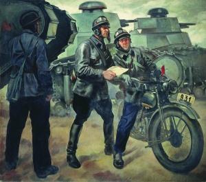 Шухмин П.М. Танкисты. 1928