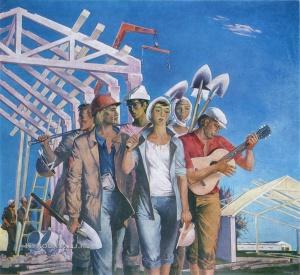 Скобеев Валерий Николаевич (Россия, 1938) «Студенческая песня» 1972