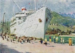 Фербер Виктор Александрович (1908-1965) «Ялта» 1955