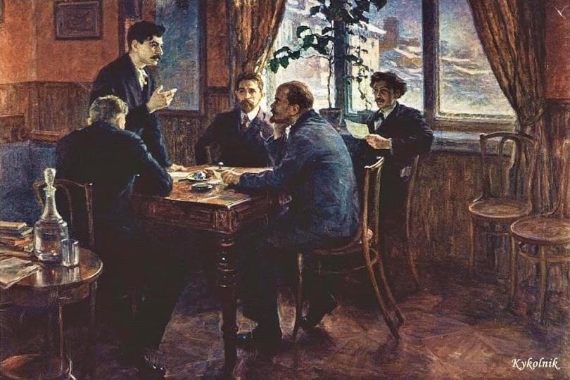 Моравов А.В. «В. И. Ленин и И. В. Сталин за выработкой резолюции Таммерфорсской большевистской конференции в 1904 году»