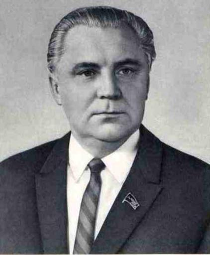 Владимир Васильевич ЩЕРБИЦКИЙ Член Политбюро ЦК КПСС. 1972 г.