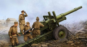 Советская 152-мм гаубица МЛ-20 (Vincent Wai)