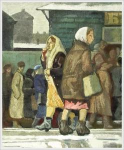 Дурасов Лев Петрович (Россия) «За хлебом»