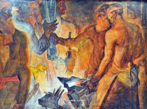 Ишанов Музаффар Бурханович (1950-1984) «Литейное дело»