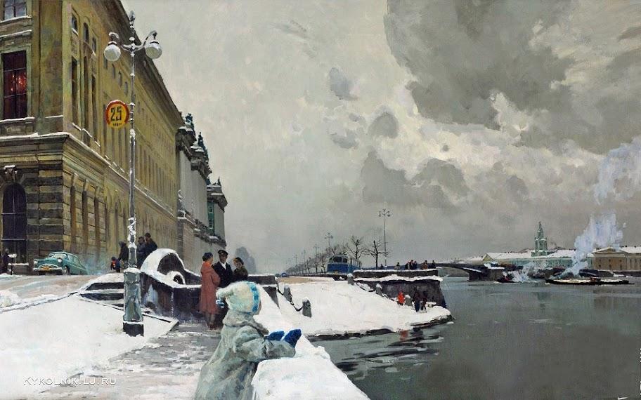 Подляский Юрий Станиславович (Россия, 1923) «Ленинград» 1958