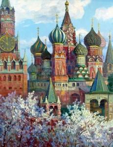 Прохоров Константин Александрович (Россия, 1924) «Святыни Москвы»