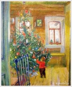 Прокошев Николай Иванович (Россия, 1904-1938) «Новый год» 1937