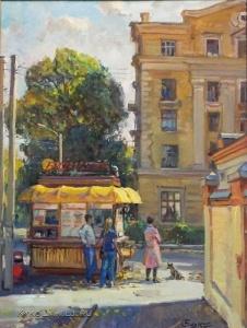 Сиденин Константин Евгеньевич (Россия, 1960) «Ларёк у НПИ»