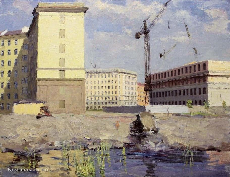 Солоницын Аркадий Павлович. «Ленинград. Город наступает» 1965