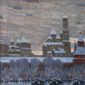 Володин Михаил Филиппович (1912-1987) «Москва. Тревожный 1941-й год» 1976