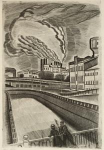 Захаров Гурий Филиппович (Россия, 1926-1994) «Дым Могэса» из серии «Москва» 1970