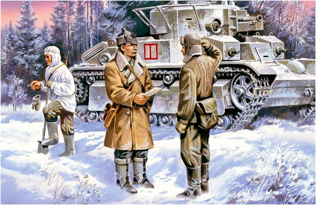 Руденко Валерий. Танк Т-28.
