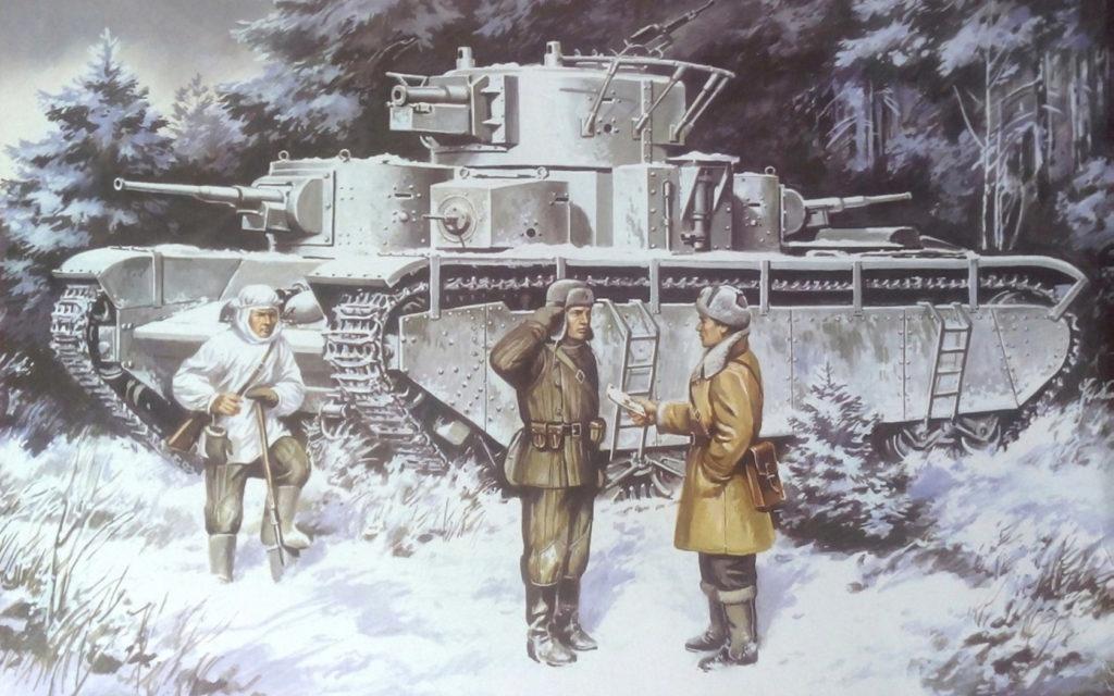 Руденко Валерий. Танк Т-35.