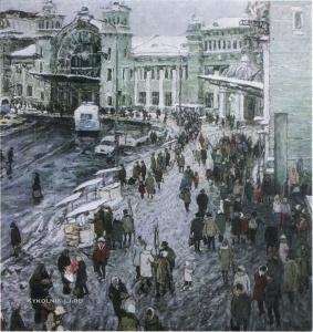 Чулович Виктор Николаевич (1922-1994) «Белорусский вокзал» 1969