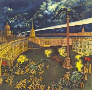 Спирин Геннадий Константинович (1948) «Штурм Зимнего» 1976