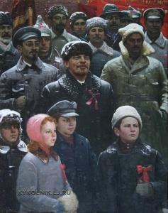 Козлов Тимофей Павлович (1911–2001) «Праздник Октября» 1976