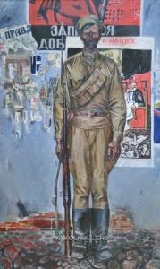 Лобко Анатолий Михайлович (1939-1996) «Часовой Октября»